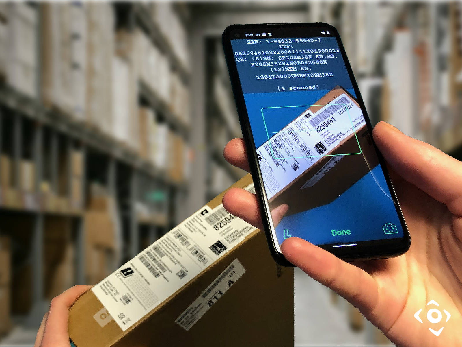 Barcode Scanner Library and SDK for iOS and Android - Vision Smarts